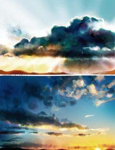Sky graphic-art
