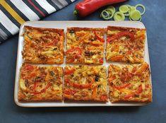 Ruokaisa gluteeniton kasvispiirakka | Himoleipuri 200 Calories, Gluten Free Recipes, Lasagna, Free Food, Risotto, Zucchini, Food And Drink, Baking, Vegetables