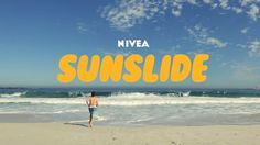 [ Nivea - A slide designed to protect kids from the sun by applying sunscreen in an entertaining way ] Experiential Marketing, Guerilla Marketing, Bordeaux, Communication, Ad Of The World, Protector Solar, Cool Typography, Best Commercials, Best Ads