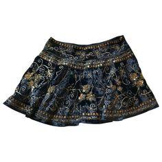 Velvet mini skirt Free People Navy size S International in Velvet - 11100621 Velvet Color, Blue Velvet, Velvet Mini Skirt, Free People Skirt, Gold Sequins, Boho Shorts, Mini Skirts, Dragon, Things To Sell