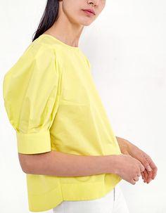 Camisa manga globo - Ropa | Stradivarius España. 17,95€. También blanco. Zara Home, Costa Rica, Ss, Manga, Patterns, Shirts, Outfits, Tanks, Dressmaker