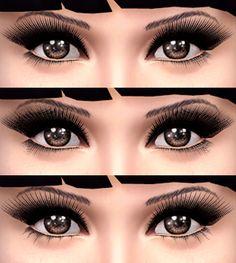 9 Best Eyelash 3d Ts4 Images Eyelashes Lashes Maquillaje