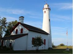 The Sturgeon Point Light Station is a lighthouse on Lake Huron in Haynes Township, Alcona County, northeastern lower Michigan, USA.