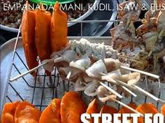 pinoy street foods - Google Search Pinoy Street Food, Pinoy Food, Filipino Recipes, Filipino Food, Asian Market, Food Festival, Empanadas, Food Pictures, Seafood