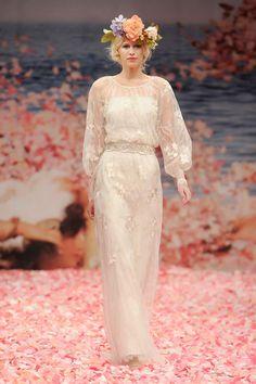 Vestido de novia de Claire Pettibone perfecto para una #boda en el campo #look #wedding