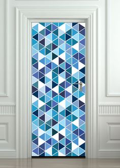 Door wall sticker / Door Sticker / Door Mural / Door Wrap / Self-Adhesive Vinyl Decal / Fridge Decal model 206