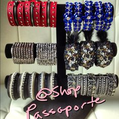 Gorgeous new arm party pieces! http://www.ShopPassaporte.com  #Travel #Jewelry #Accessories #Passaporte #ArmParty #Cuff #Bangle #Bracelet