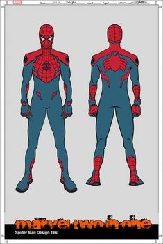 """Artist gives Spider-Man, Ms. Marvel, She-Hulk and Wolverine's uniforms a more tactical feel for these awesome S. versions appearing in Marvel Spiderman Sketches, Spiderman Kunst, All Spiderman, Spiderman Drawing, Marvel Drawings, Superhero Characters, Comic Book Characters, Comic Books Art, Comic Art"