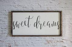 Sweet Dreams Sign