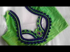 simple designer blouse cutting and stitching Brocade Blouse Designs, New Saree Blouse Designs, Netted Blouse Designs, Patch Work Blouse Designs, Designer Blouse Patterns, Latest Blouse Neck Designs, Simple Blouse Designs, Stylish Blouse Design, Dress Neck Designs