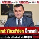 Adem Murat Yücel'den Önemli Açıklama!  Adem Murat Yücel'den Önemli Açıklama . #çevreyolu #üstgeçit #karayolları #ademmuratyücel #açıklama #alanyahaber https://goo.gl/Wi7HjS