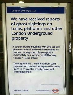 This is London for you