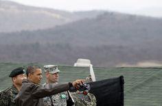 Obama in Corea - Il presidente degli Stati Uniti visita la zona demilitarizzata che divide le due Coree