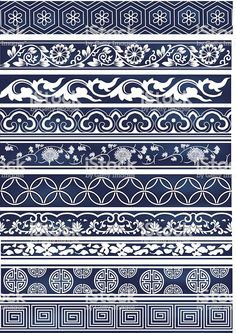 Old lace pattern royalty-free old lace pattern stock vector art & more images of chinese culture Border Pattern, Border Design, Pattern Art, Pattern Design, Lace Design, Lace Patterns, Textures Patterns, 3d Templates, Chinese Patterns