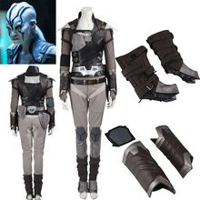 HOT! Star Trek Beyond Jaylah Cosplay Costume Outfit Custom Size Halloween Dress Costume(China (Mainland))
