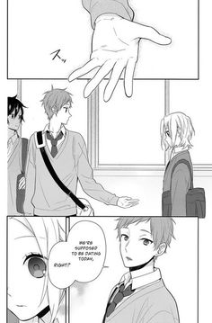 Horimiya 44 - Read Horimiya 44 Manga Scans Page Free and No Registration required for Horimiya 44 Anime Couples Manga, Cute Anime Couples, Manga Anime, Anime Love Story, Manga Love, Takane To Hana, Manga Tutorial, Romantic Manga, Horimiya