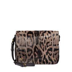 Jerome Dreyfuss Leopard Crossbody Bag - Shop more cozy chic pieces at ShopBAZAAR.com http://shop.harpersbazaar.com/in-the-magazine/cozy-chic