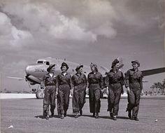 WWII Flight nurses