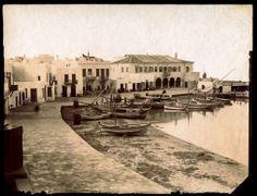 Mykonos once upon a time. Old Time Photos, Greece Photography, Greece Islands, Mykonos, Once Upon A Time, The Past, In This Moment, Mansions, Architecture
