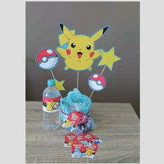 Pokemon Party Essentials!  INSTANT DOWNLOAD-PRINTABLE- DIGITAL FILES ___________________________________  THIS DOWNLOAD INCLUDES: