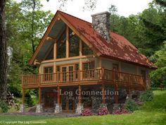 Alpine Ridge Log Home | Minocqua 1292 SQ. FT.