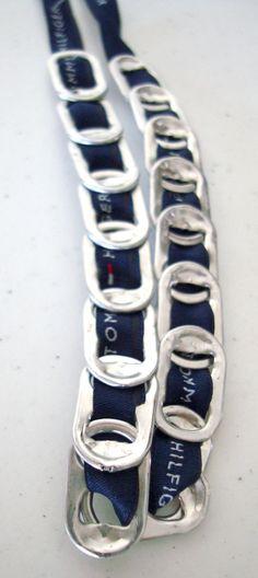 Can pull tab bracelet
