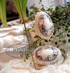 расплавлен - Пасхальные яйца decouapge