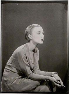 Karin van Leyden, Paris, 1929.  Photo by Man Ray