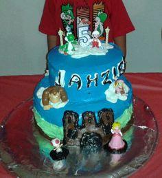 Mario Birthday cake!