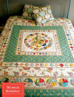 Judy Newman's museum medallion quilt pattern.....someday I will try my hand at this.