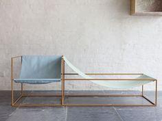 Seat bleu/green. By Muller van Severen.