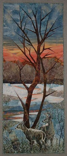 Ruth Powers - Fiber Art And Quilt Art Workshop. Designing and Sewing for Picture Piecing. April 12 - 18, 2015