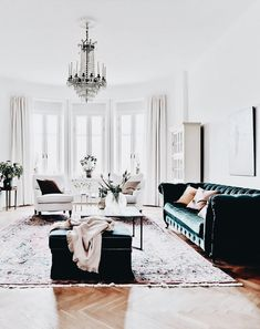 Modern Glam Luxe Living Room Home Decor Inspo Chic Glamorous Style