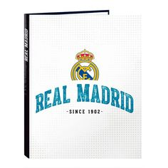 Just launched! Carpeta Real Madrid A4 anillas,1uds http://www.latendeta.es/products/carpeta-real-madrid-a4-anillas?utm_campaign=crowdfire&utm_content=crowdfire&utm_medium=social&utm_source=pinterest