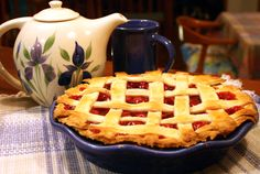 The perfect pie - make this for Valentines Day!