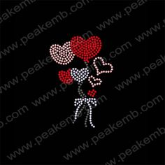 Beauty Heart Crystal Stones Iron On Applique For Garment 30Pcs/Lot Rhinestone Motif Baseball Mom Letter Designs Wholesale 30pc/lotMaterialHotfix