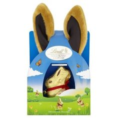 Lindt gold bunny & fluffy ears