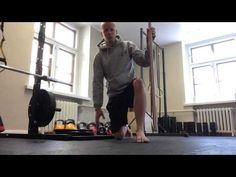 Nilkan ja isovarpaan liikkuvuus - YouTube
