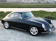 "The gold lettering on the glove box and engine cover of Chris Toy's pristine black 1964 Porsche 356 reads ""Outlaw."" It's an appropriate handle for this car. This is a 356 with the soul of a Porsche. Porsche 356, Porche 911, 1964 Porsche, Black Porsche, Porsche Cars, Porsche Carrera, Porsche 2017, Luxury Sports Cars, Classic Sports Cars"