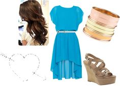 Simple and Elegant(; @NicoleBecker, created by rssoftball on Polyvore