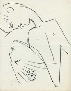 Image result for dessin cocteau