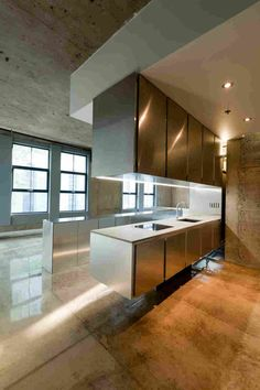 Апартаменты из бетона и алюминия в Монреале, Канада