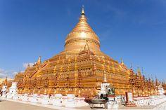 Nyaung-U, Myanmar - Shwezigon Pagoda