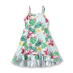 Toughskins Infant & Toddler Girl's Sleeveless Sundress - Tropical Floral
