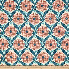 Amy Butler Eternal Sunshine Zebra Bloom Linen from Designed by… Textile Patterns, Print Patterns, Mixing Patterns, Geometric Patterns, Textiles, Fabric Design, Pattern Design, Pattern Art, Amy Butler