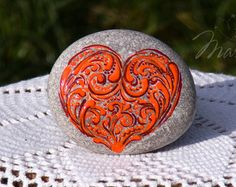 Stone Painting, Rock Painting, Unique Gifts, Handmade Gifts, Family Gifts, Rock Art, Painted Rocks, Special Gifts, Gifts For Him