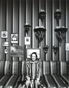 """Truth is a hell of a big point with me. Now I exaggerate—always."" Diana Vreeland Photography by Arnold Newman"