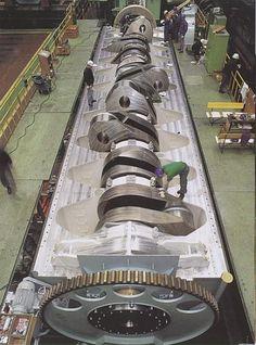 The Emma Maersks Wartsila-Sulzer Super Engine