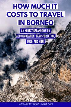 The Cost of Travel in Malaysian Borneo Borneo Travel, Bali Travel, Malaysia Travel, Visit Maldives, Maldives Travel, Thai Islands, Amazing Destinations, Travel Destinations, Travel Tips