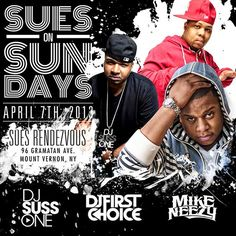 Sues On Sunday @ Sue's Rendezvous Sunday April 7, 2013